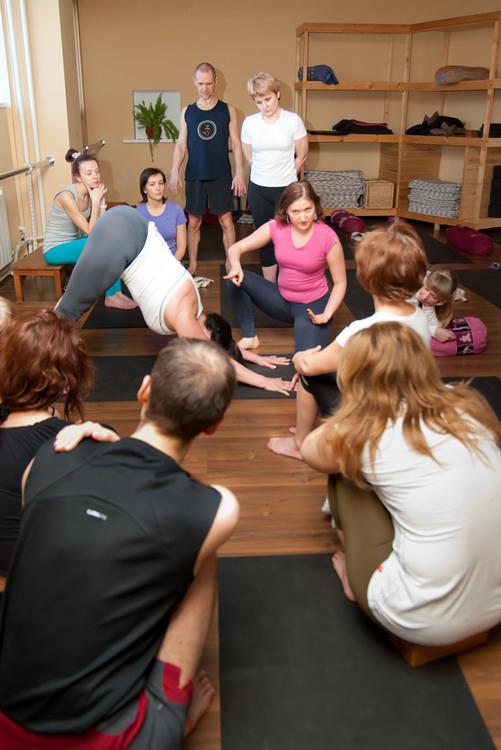 Ассоциации йоги айенгара